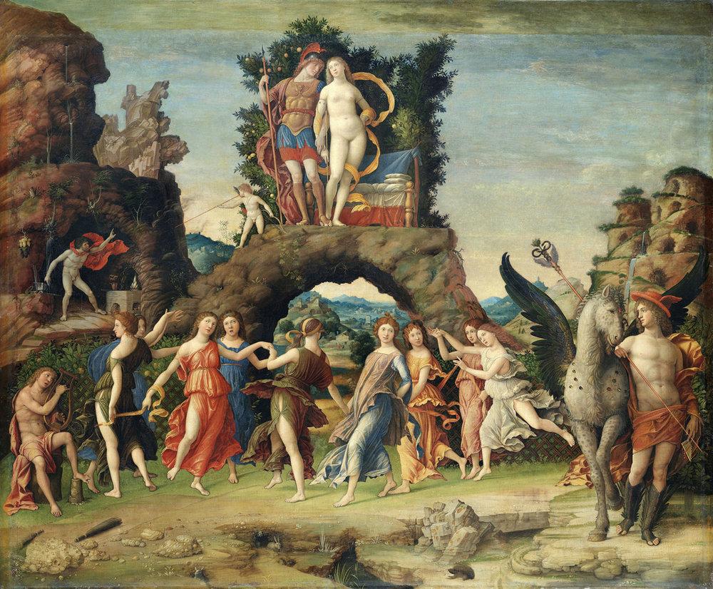 Mantegna's Parnassus 1497.jpg
