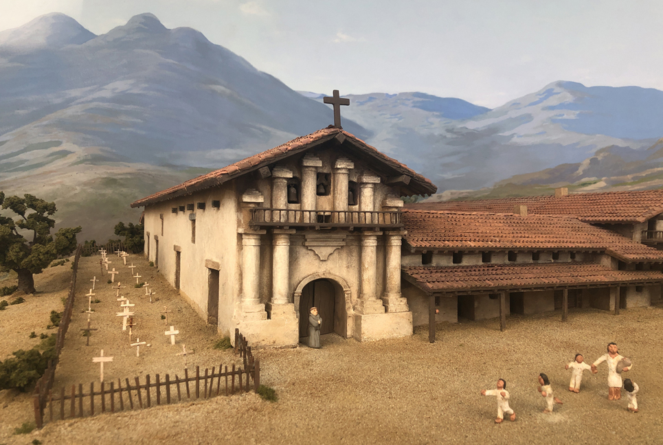 Diorama of Mission Dolores in 1799 SMALL.jpg