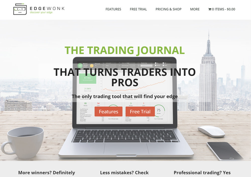 Edgewonk, the best trading journal on the planet.