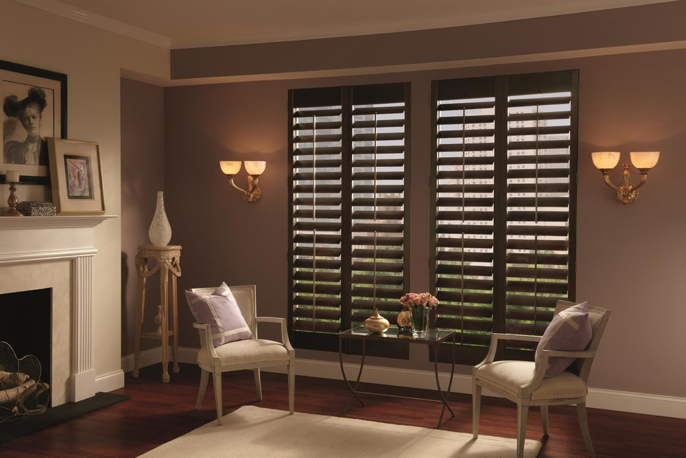 tx parkland t shutters blinds by houston hunter buy wood l shades in at douglas