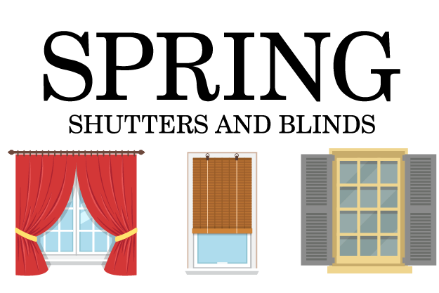 Spring Shutters & Blinds