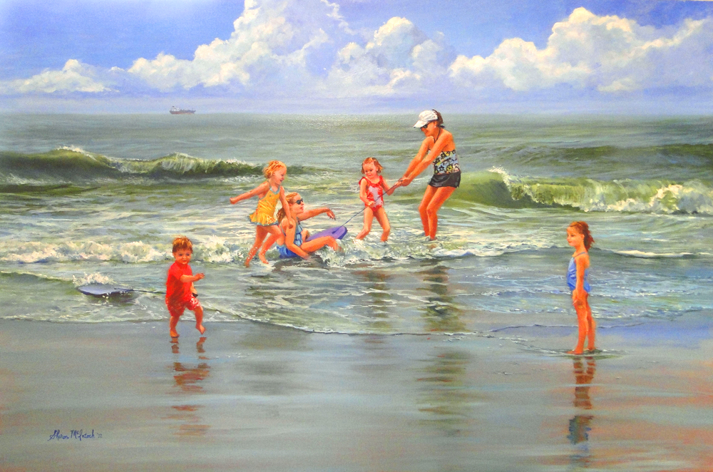 Colleen and the Grands 24 x 36