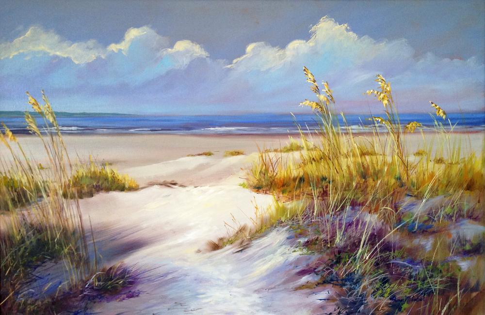 "Gary's Beach 24"" x 36"""