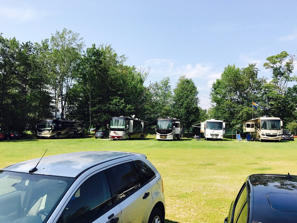 Auxiliary Parking Lot - RV area
