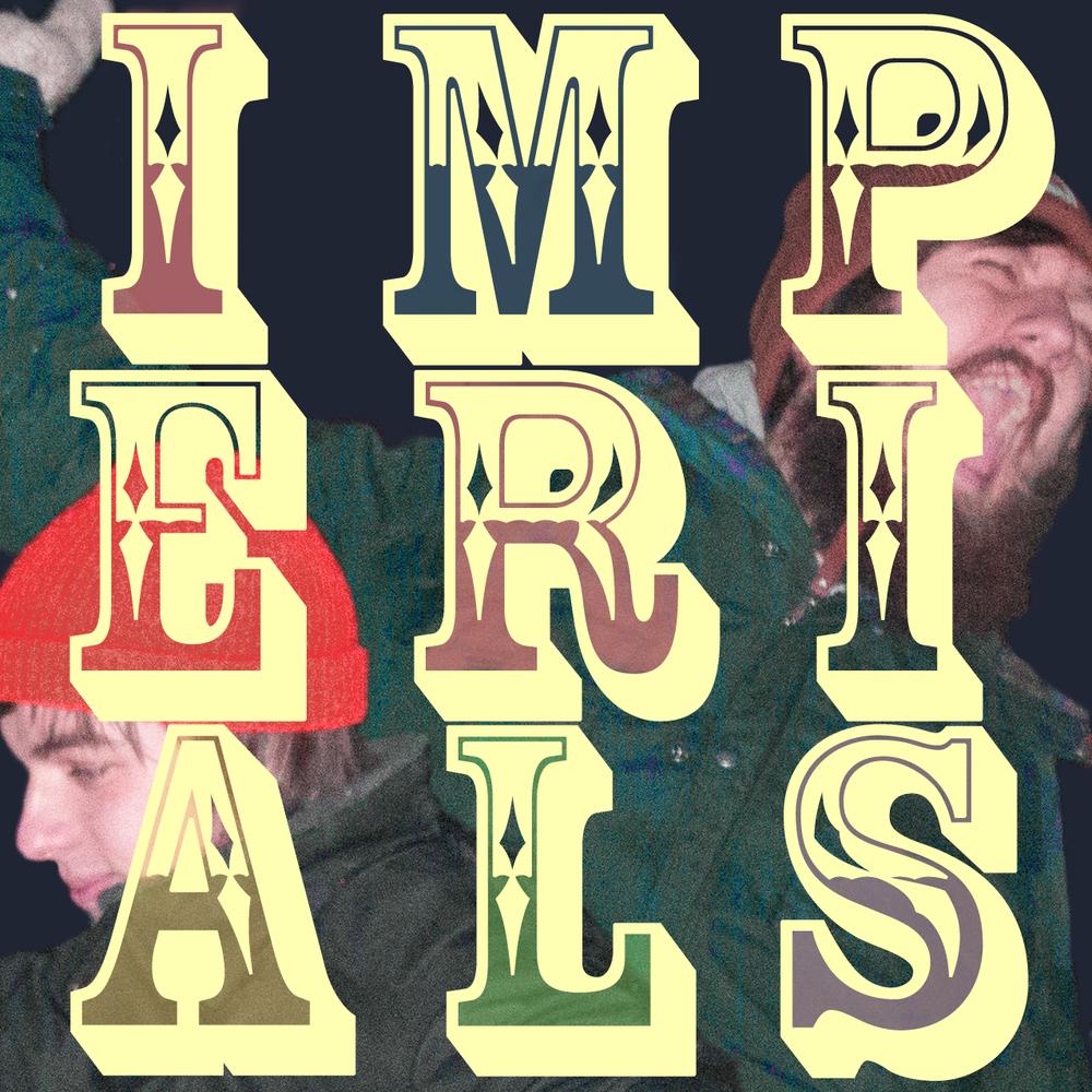 Sticker design for Imperials. 2014.