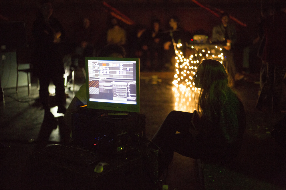 Naked Noise #6 at CSMA. 2015.