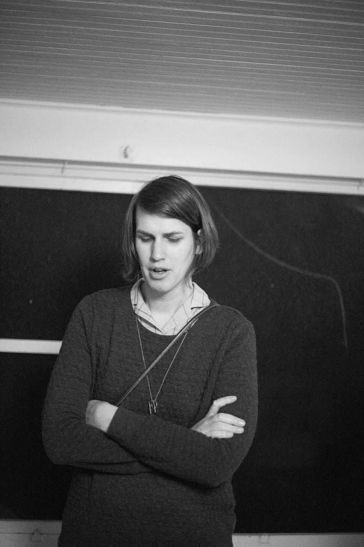 Sarah Hennies / Unknown photographer