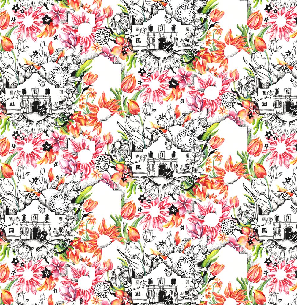 Alamo, Floral
