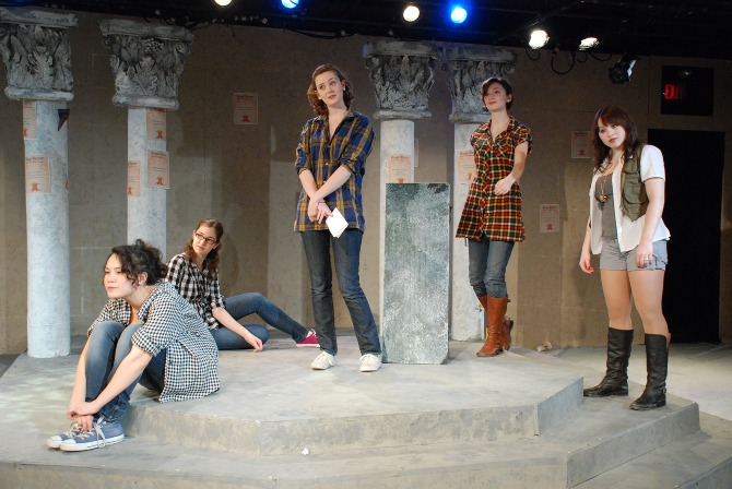 Love's Labour's Lost by William Shakespeare, dir. Philip Waller
