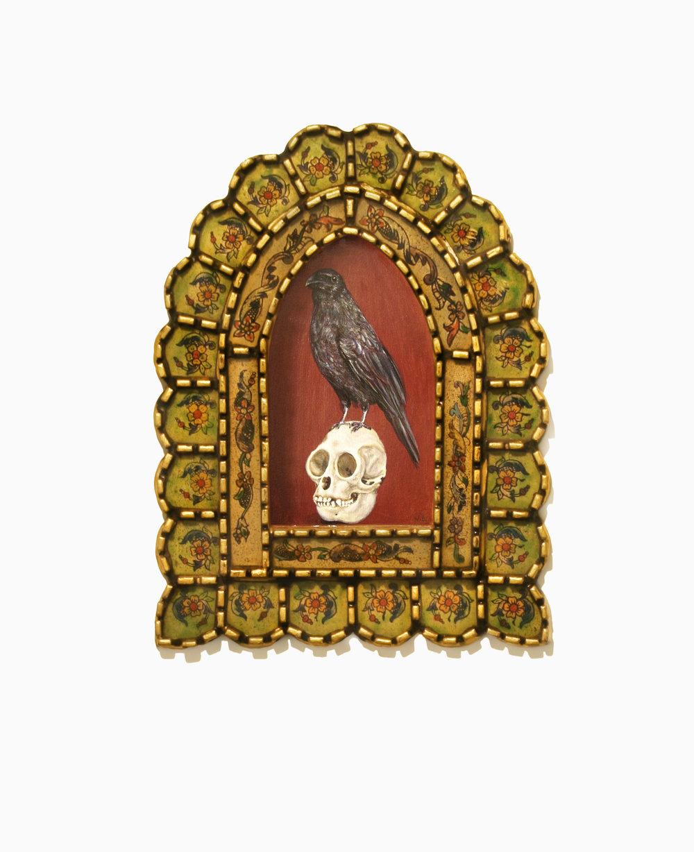 Acrylic on wood, 8''x10''