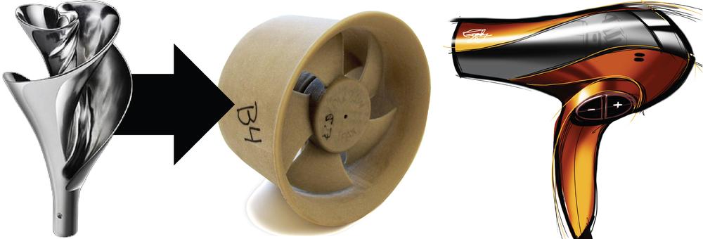 Flash Dry fan design - Launch Innovation