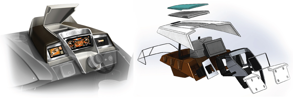 Helm Design helm harris launch product design