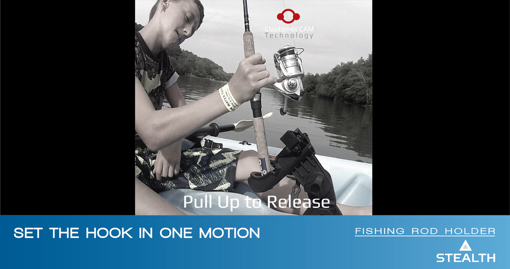 Stealth Quick Release on Boat - Launch Innovation