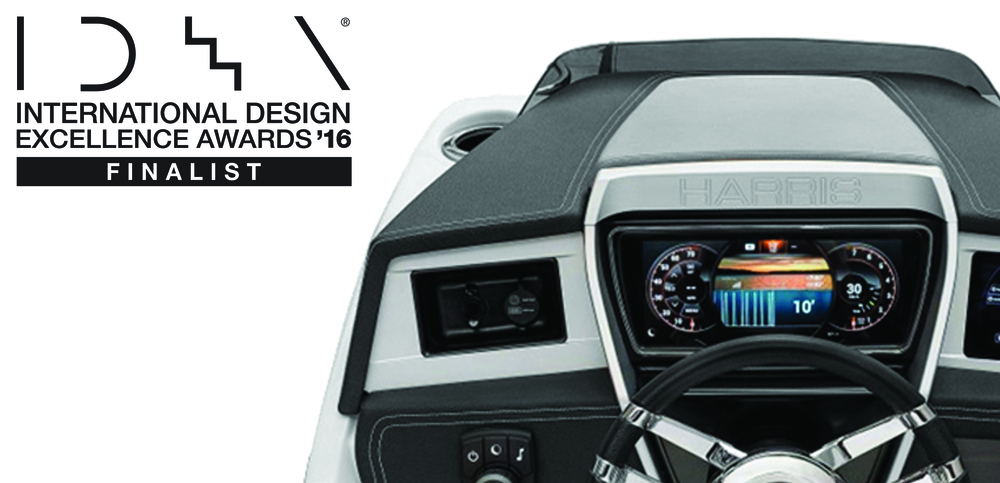 LAUNCH + HARRIS PONTOON= DESIGN AWARD