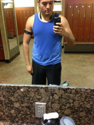Due to logistics or time constraints, when I can't run outside the gym is my friend.