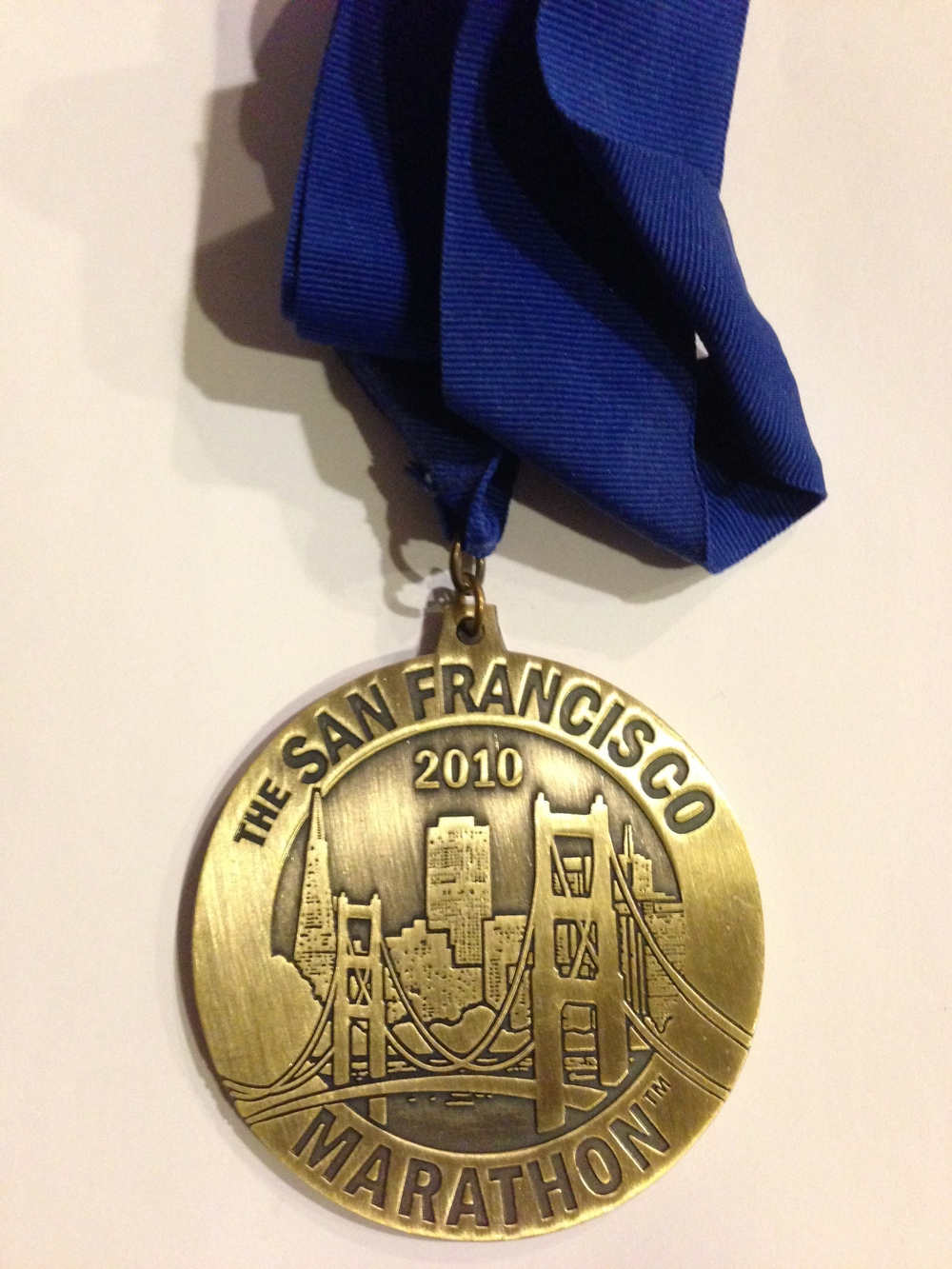 SAN FRANCISCO MARATHON MEDAL
