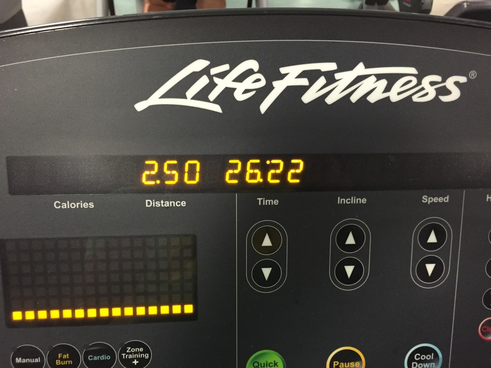 First run since taking some time off. I hated/loved it!