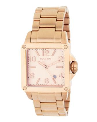 Brera-Stella 18k Rose Gold Watch