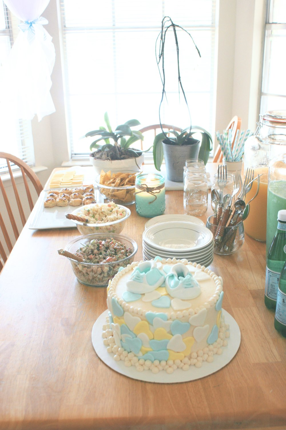 Baby shower food and drinks
