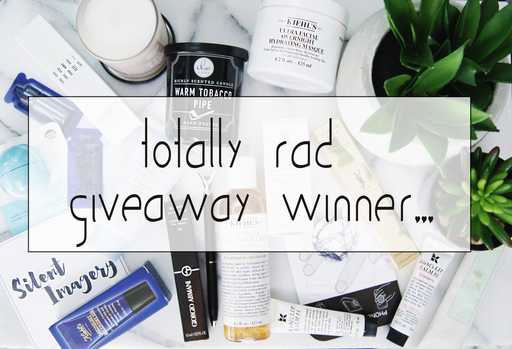 Silent Imagery totally rad giveaway winner