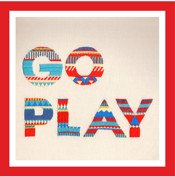 go play embroidered type by maricor maricar