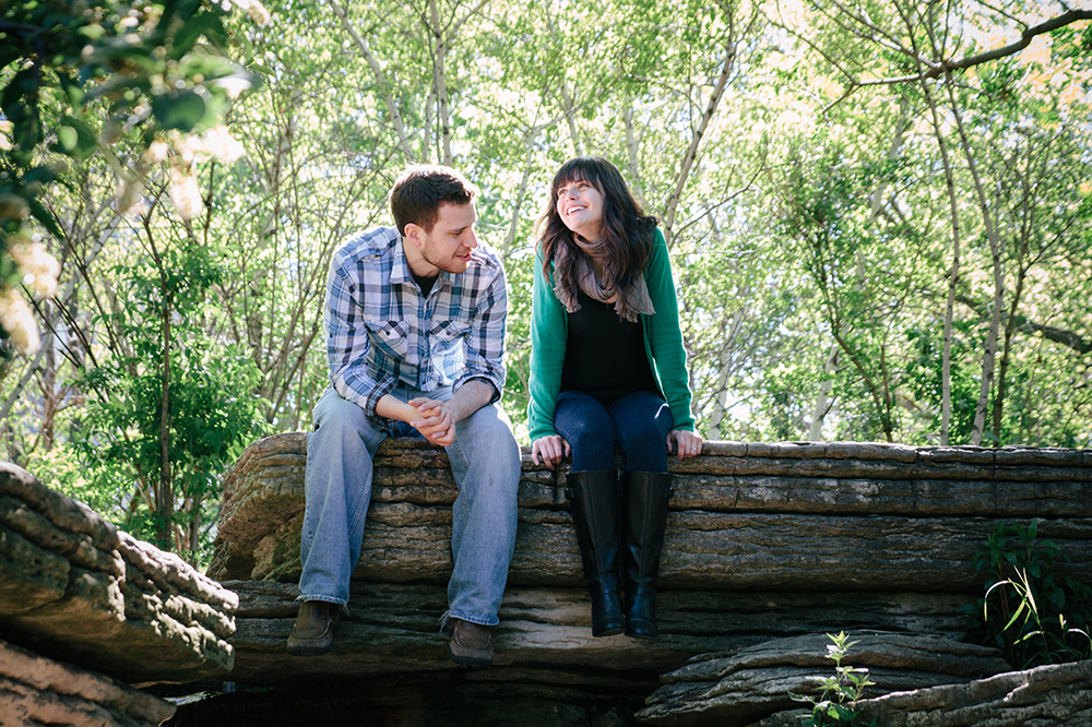 Scott and Emily engagement session