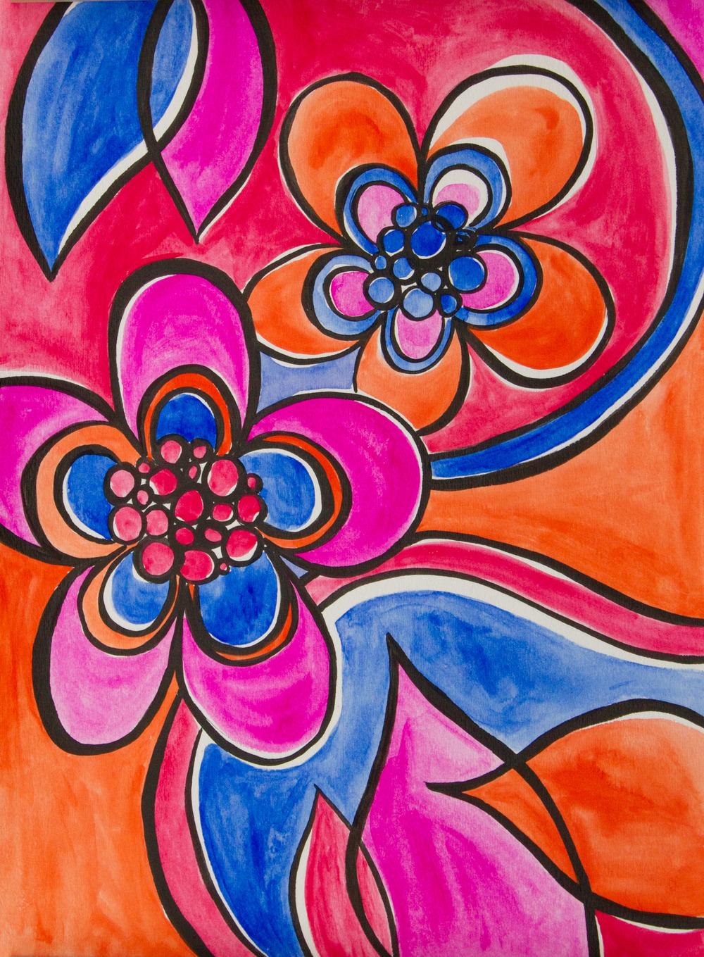 Bold Florals No 1 | Bryna Shields