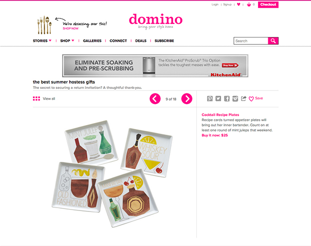 Domino Magazine / The Best Summer Hostess Gifts