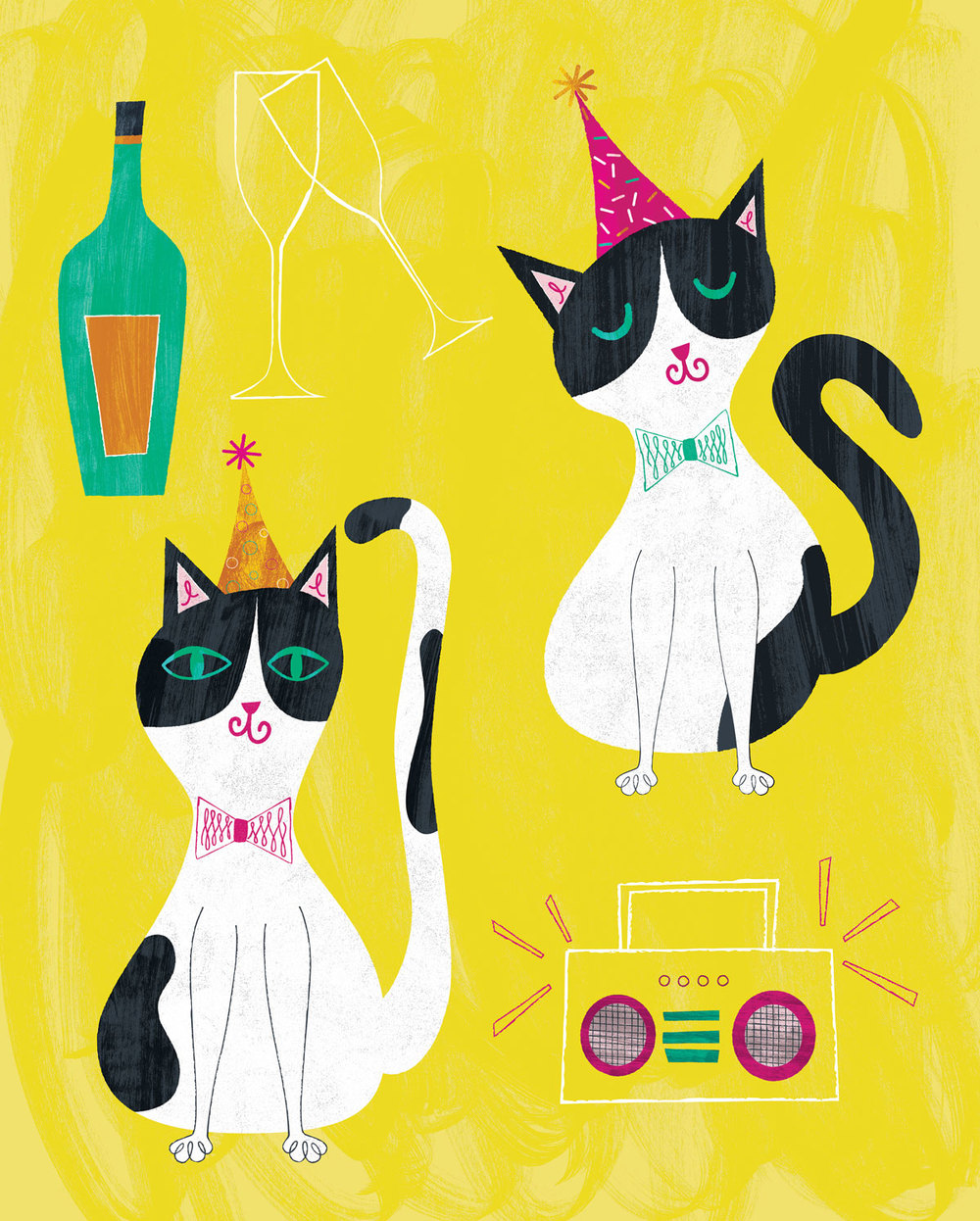 Party Cats by Bryna Shields