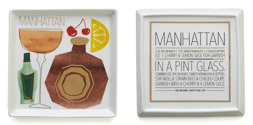Manhattan Cocktail Plates by Bryna Shields.jpg