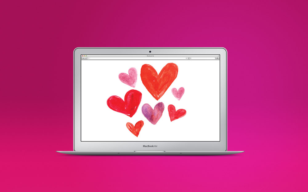 Big Hearts Desktop by Bryna Shields