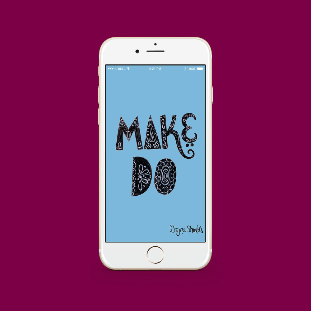 Make/Do iPhone Desktop Download