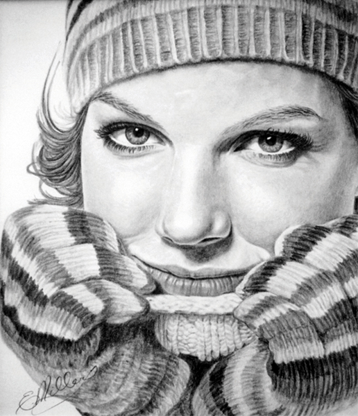 Pencil Drawing – Model