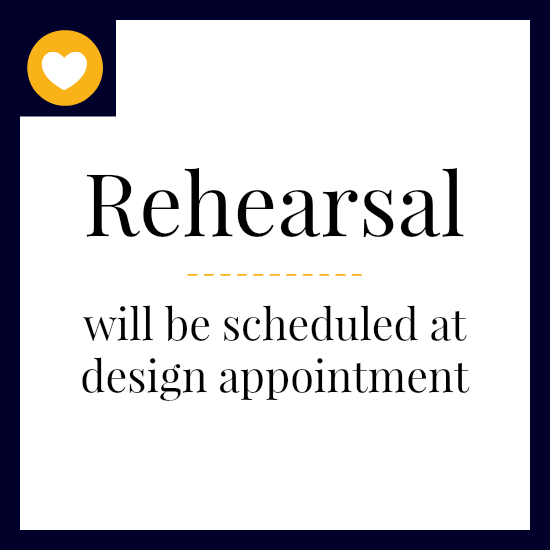 Day Before at 12pm   If you don't want to wait until the design appt, we can schedule the above time slot. At the design appt we can attempt to schedule a different time slot, if desired.