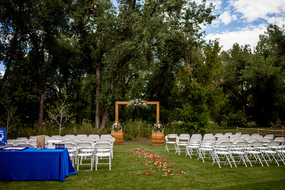 Tree Lined Ceremony