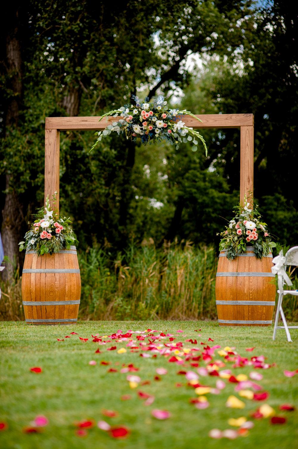 Ceremony Archway Decor