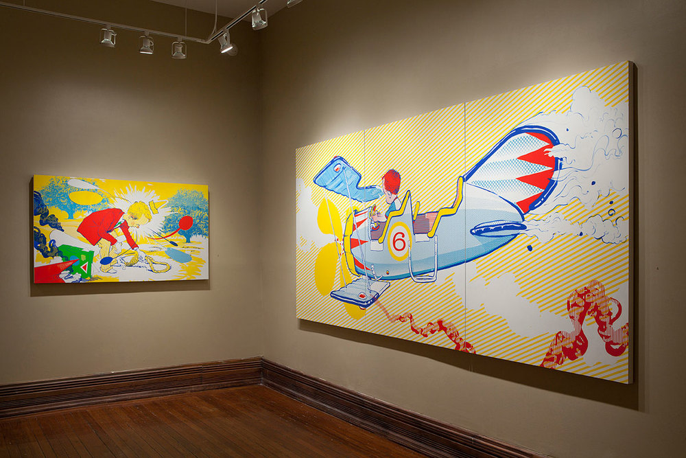 Noose and Plane, Hall Street Gallery, Savannah, GA