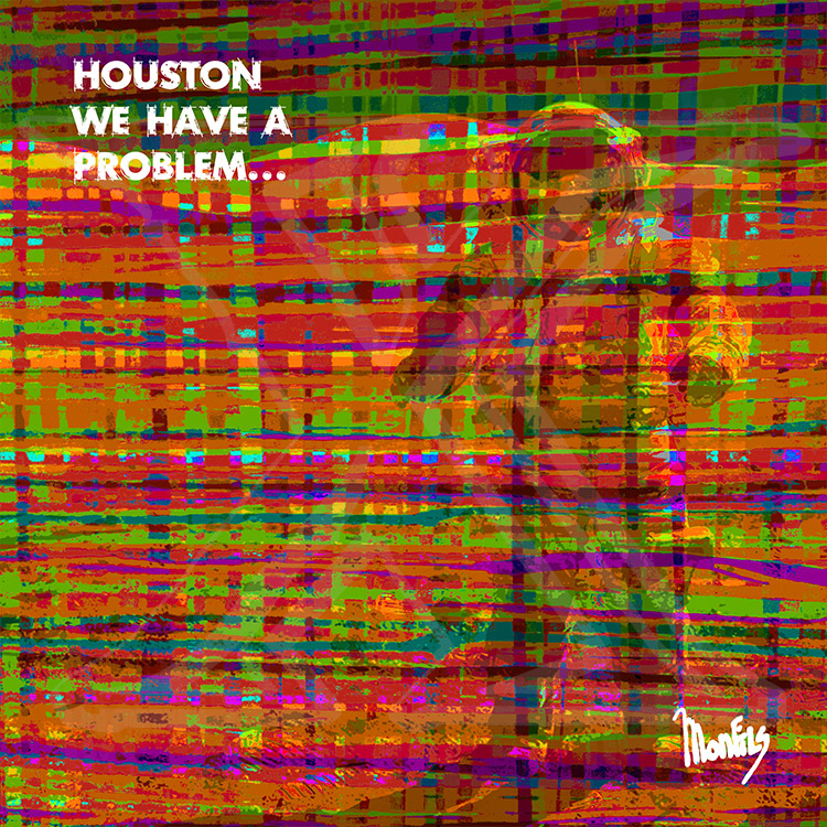 """Houston..."" Design out of the ""WORDS"" Series"