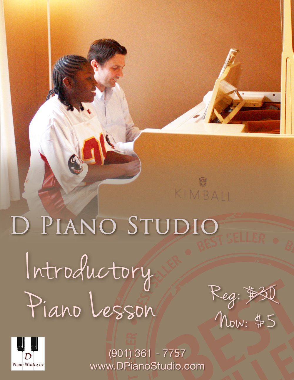 D Piano Studio Intro Piano Lesson
