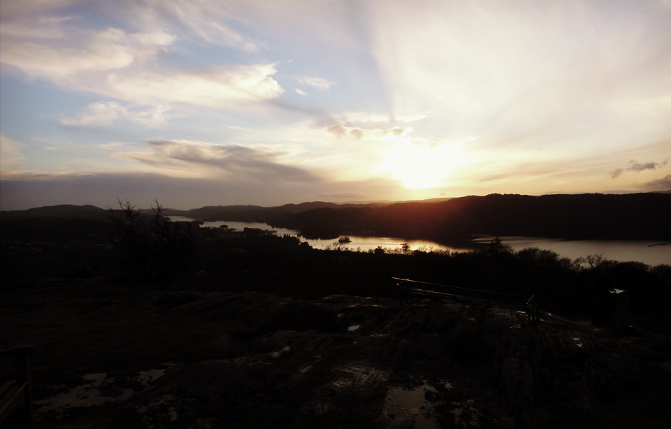 Orrest Head Lookout, Windermere - Where it all began