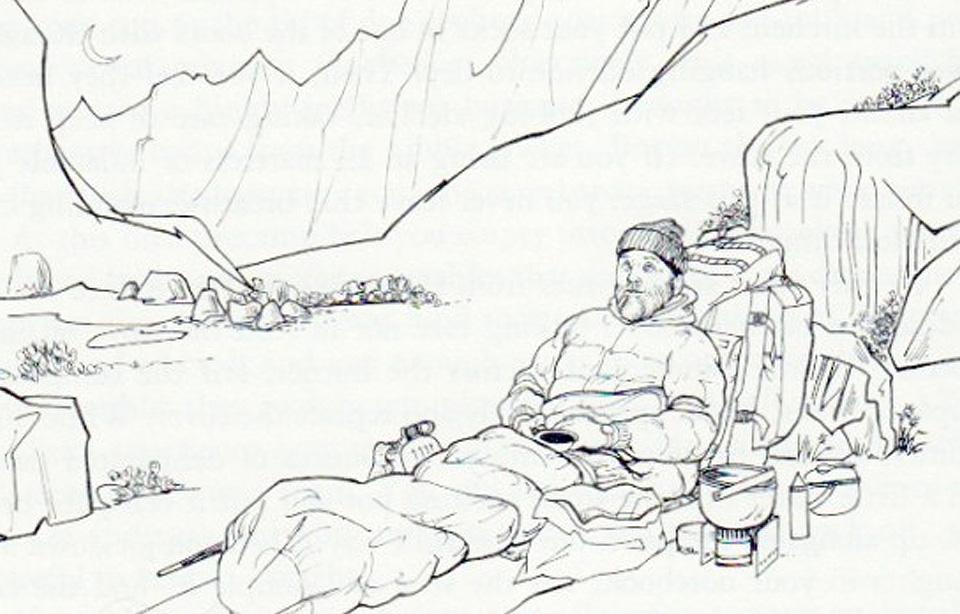 Fletcher at camp