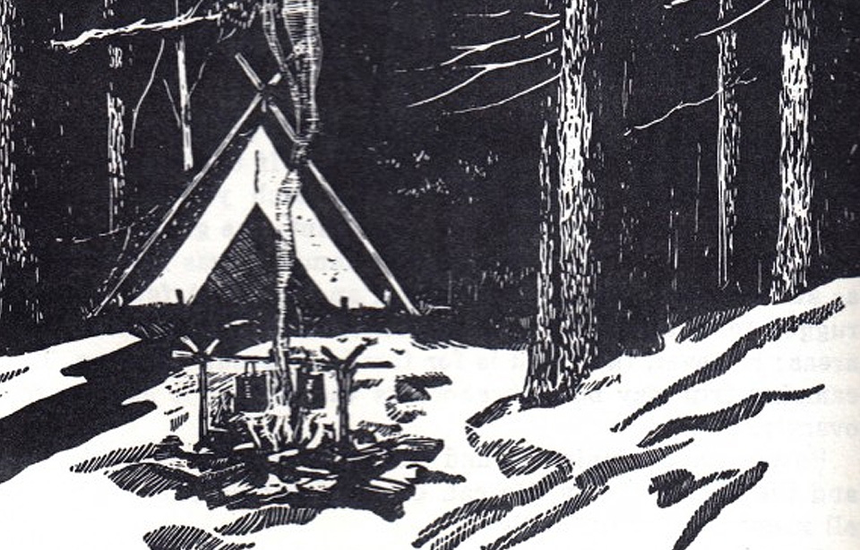 All About Camping 1962 - Drawing by Luis M. Henderson