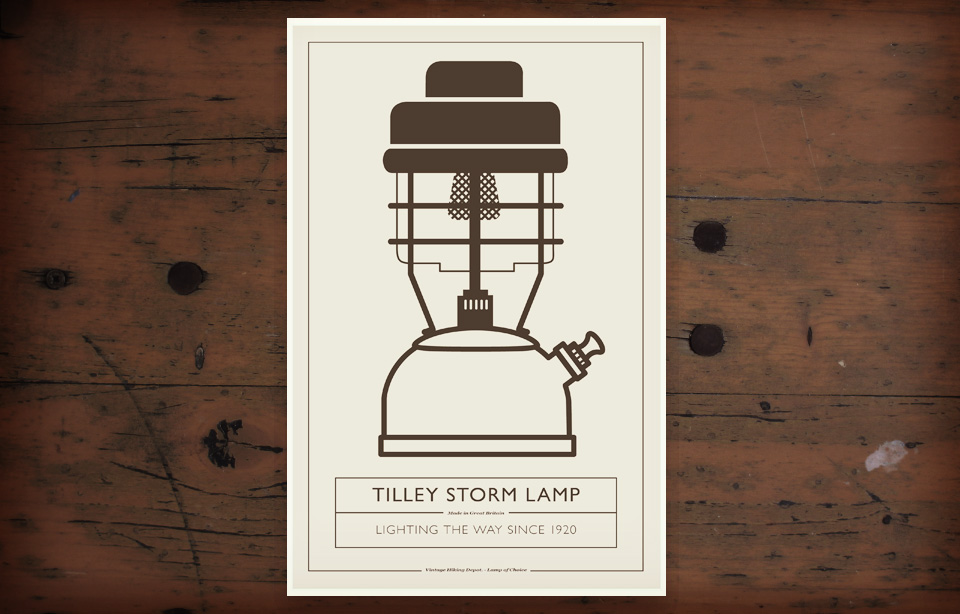 VHD Poster - Tilley Lamp
