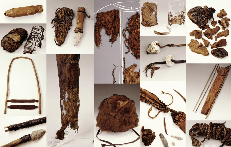 Wht Was Otzi S Shoes Made Of