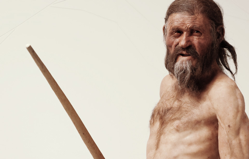 Ötzi - Image Copyright of South Tyrol Museum of Archaeology – www.iceman.it