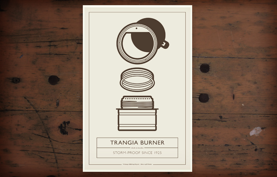 VHD Poster#2 - Trangia Burner