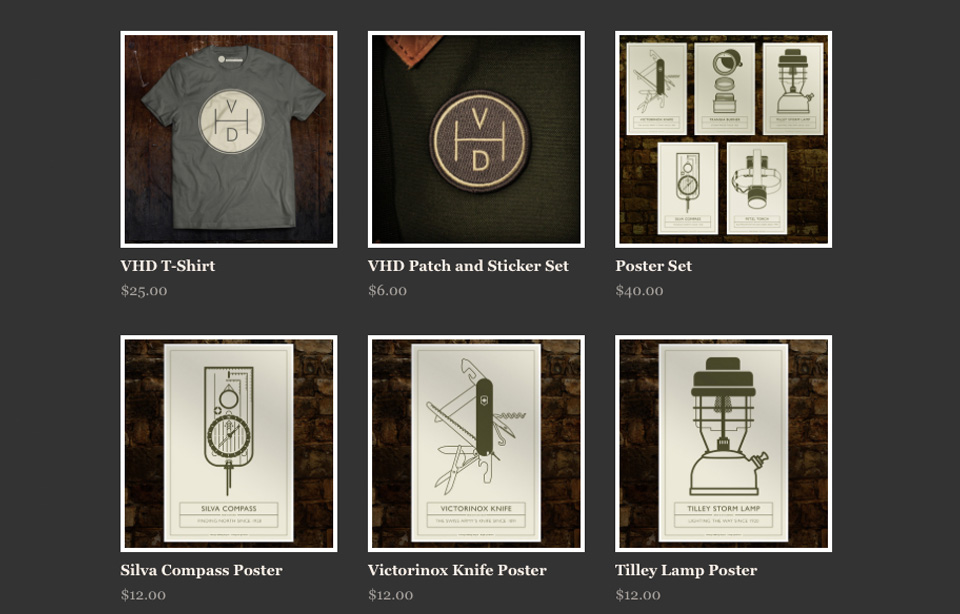 The Vintage Hiking Depot Store is open
