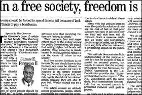 The Charlotte Observer   By James E. Ferguson II