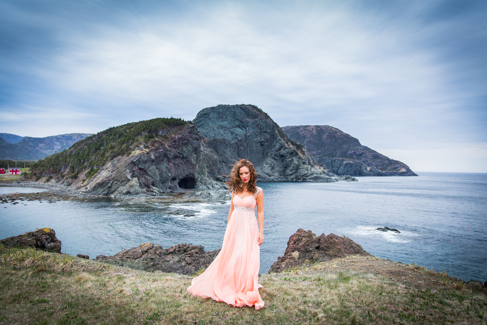 Yvette at Bottle Cove