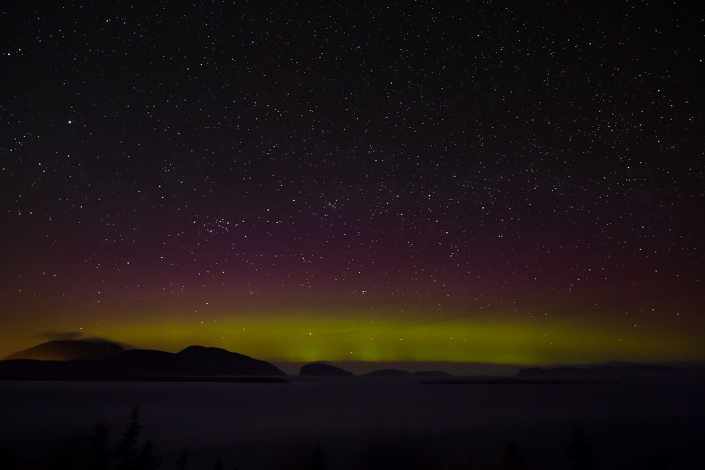 Northern Lights Over Weeball